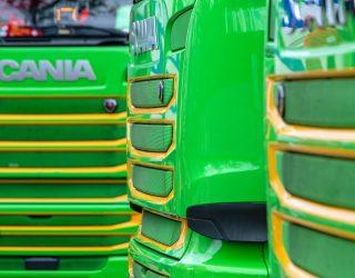 SCANIA: Pół miliona pojazdów w sieci